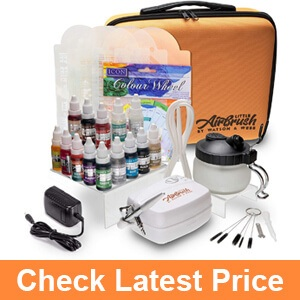 Airbrush Cake Decorating Kit- An Intelligent Solution to Spraying