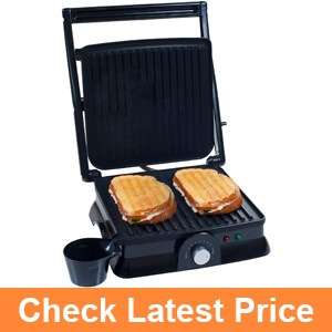 Chef Buddy 80-KIT1019 Panini Press Indoor Grill and Gourmet Sandwich Maker
