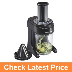 Hamilton beach electric spiralizer
